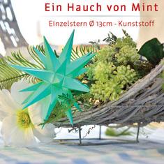 Limitierte Sonderedition 2020, Herrnhuter Stern Kunststoff 13cm mint